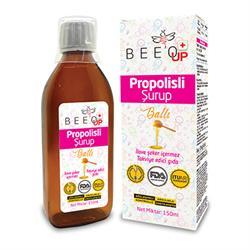 Bee'o Up Propolisli Ballı Çocuk Şurubu 160 ML