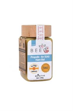 Bee'o Up Propolis Arı Sütlü Ham Bal Yetişkinler için 190 gr