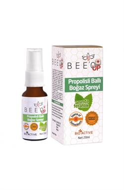 Bee'o Up Propolisli Ballı 20 ml Boğaz Spreyi