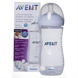 Avent Scf036/17 Natural Pp Biberon 330 Ml Tekli