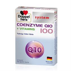 Doppelherz Coenzyme Q10 100 mg + Vitamins 30 Kapsül