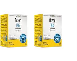 Ocean D3K2 20 ml Damla x2 (1Alana1Bedava)