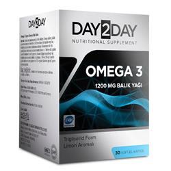 Day2Day Omega 3 1200 mg 30 Softjel Kapsül