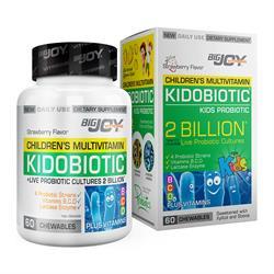 BigJoy Vitamins Kidobiotic Kids Probiotic 60 Çigneme Tablet