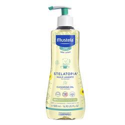 Mustela Stelatopia Cleansing Oil 500 ml Temizleme Yağı