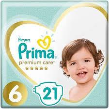 Prima Premium Care 6 Numara Ekstra Large 21'li Bebek Bezi