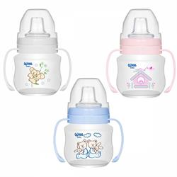 Wee Baby Antikolik Akıtmaz 250 ml Kulplu Bardak 6+Ay