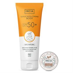 Incia %100 Doğal Vücut Güneş Kremi SPF50 + Hindistan Cevizli Butter