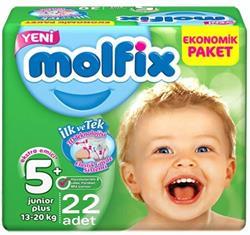 Molfix 3D 5+ Numara Junior Plus 22'li Bebek Bezi