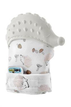 Baby Jem Baby Jem Diş Kaşıyıcı Bebek Eldiveni Kirpi Ekru