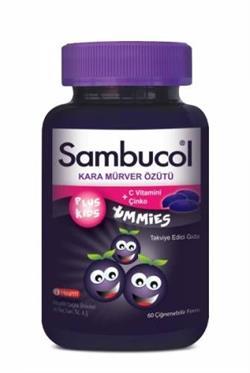 Sambucol Plus Kids Yummies 60 Çiğnenebilir Tablet