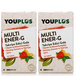 Youplus Multi Ener-G 2'li Paket 30 Tablet