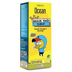 Ocean Kral Şakir Limon Aromalı Balık Yağı Şurubu 150 ml