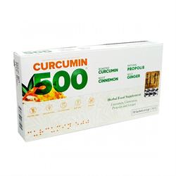 Curcumin 500 Herbal Food Altın Yoğurt Kürü 10 Şase x 6 gr