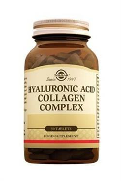 Solgar Hyaluronic Acid Collagen Complex 120 mg 30 Tablet