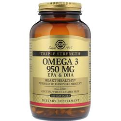 Solgar Omega-3 950mg EPA&DHA 100 Yumuşak Kapsül