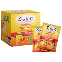 Suda Vitamin C 1000mg Mango Aromalı 20 Saşe