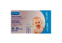 Alvita Serum Fizyolojik 20 Flakon 5 ml