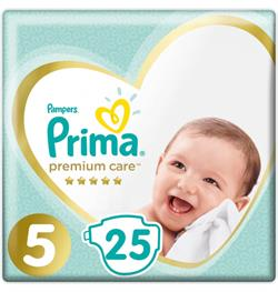 Prima Premium Care 5 Numara Junior 25'li Bebek Bezi