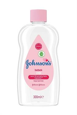 Johnsons Baby Bebek Yağı 300 ml