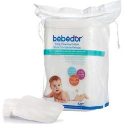Bebedor 60'lı Bebek Temizleme Pamuğu