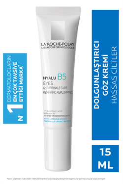 La Roche-Posay Hyalu B5 Kırışıklık Karşıtı Aydınlatıcı 15 ml Göz Kremi