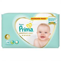 Prima Premium Care 4 Numara Maxi 46'lı Bebek Bezi