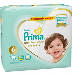 Prima Premium Care 6 Numara Extra Large 35'li Ekonomik Paket