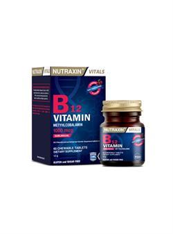 Nutraxin B12 Vitamin 1000 mcg 60 Tablet
