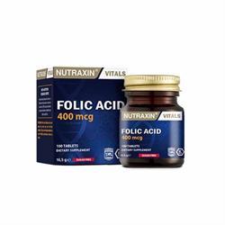 Nutraxin Folic Acid 400 mcg 100 Tablet