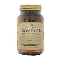 Solgar Bromelain 150 mg 60 Kapsül