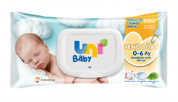 Uni Baby Yenidoğan 40 Yaprak Islak Mendil
