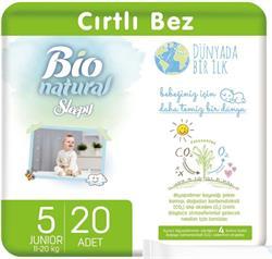 Sleepy Bio Natural 5 Numara Junior 20'li Bebek Bezi