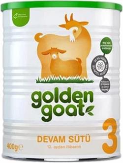 Golden Goat 3 Keçi Devam Sütü 400 gr