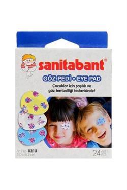 Sanitabant Çocuklar İçin 24'lü Göz Pedi
