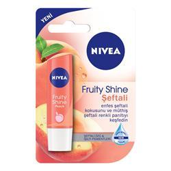 Nivea Lip Fruity Shine Peach Şeftali Durak Koruyucu