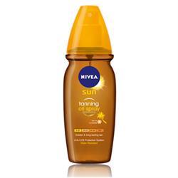 Nivea Sun Deep Tanning Oil 150 ml Spray Güneş Yağı