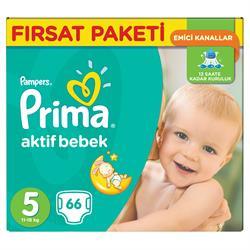 Prima Aktif Bebek 5 Beden 66 Adet