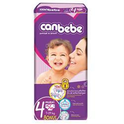 Canbebe 4 Beden Bonus Paket Maxi 7-14 Kg 56 Adet