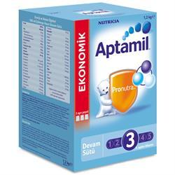 Aptamil 3 Devam Sütü 1200 g SKT: 08/2018
