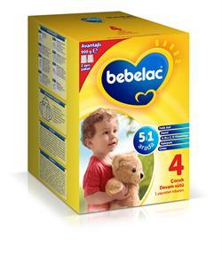 Bebelac 4 Çocuk Sütü 900 g