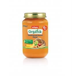 Milupa Organik Tahıllı Karışık Meyve 200 g