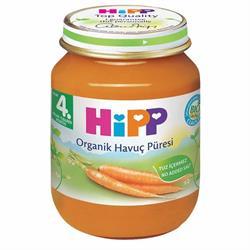 Hipp Organik Havuç Püresi 125 G