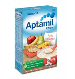 Aptamil Sütlü 5 Meyveli Kaşık Maması 250 g