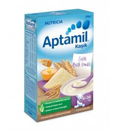 Aptamil Sütlü Ballı İrmikli 250 gr Kaşık Maması