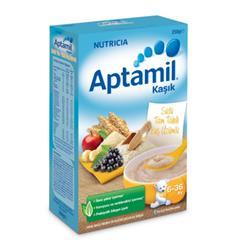 Aptamil Sütlü Tam Tahıllı Kuş Üzümlü Kaşık Maması 250 g