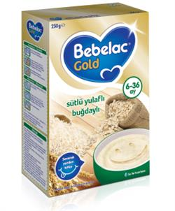Bebelac Sütlü Yulaflı Buğday Kaşık Maması 250 g