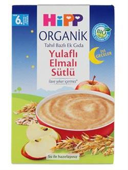Hipp Organik İyi Geceler Organik Yulaflı Elma Sütlü Ek Gıda 250 gr