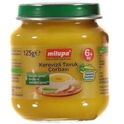 Milupa Kerevizli Tavuk Çorbası 125 gr Kavanoz Maması