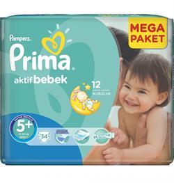 Prima Aktif Bebek 5+ Beden 34 Adet